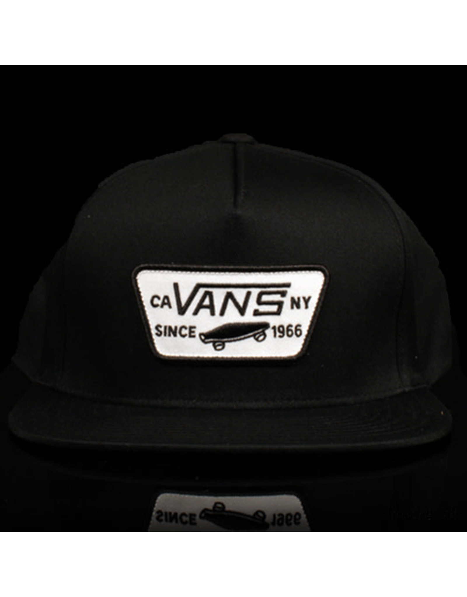 VANS Vans Hat Full Patch Snap True Black