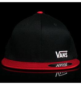 VANS Vans Hat Splitz Black Chili Pep LG/XL
