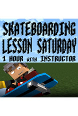 Southside 1 Hour SATURDAY Skateboarding Lesson with Instructor