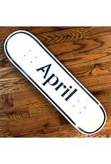 April Deck Logo 8.25x31.9