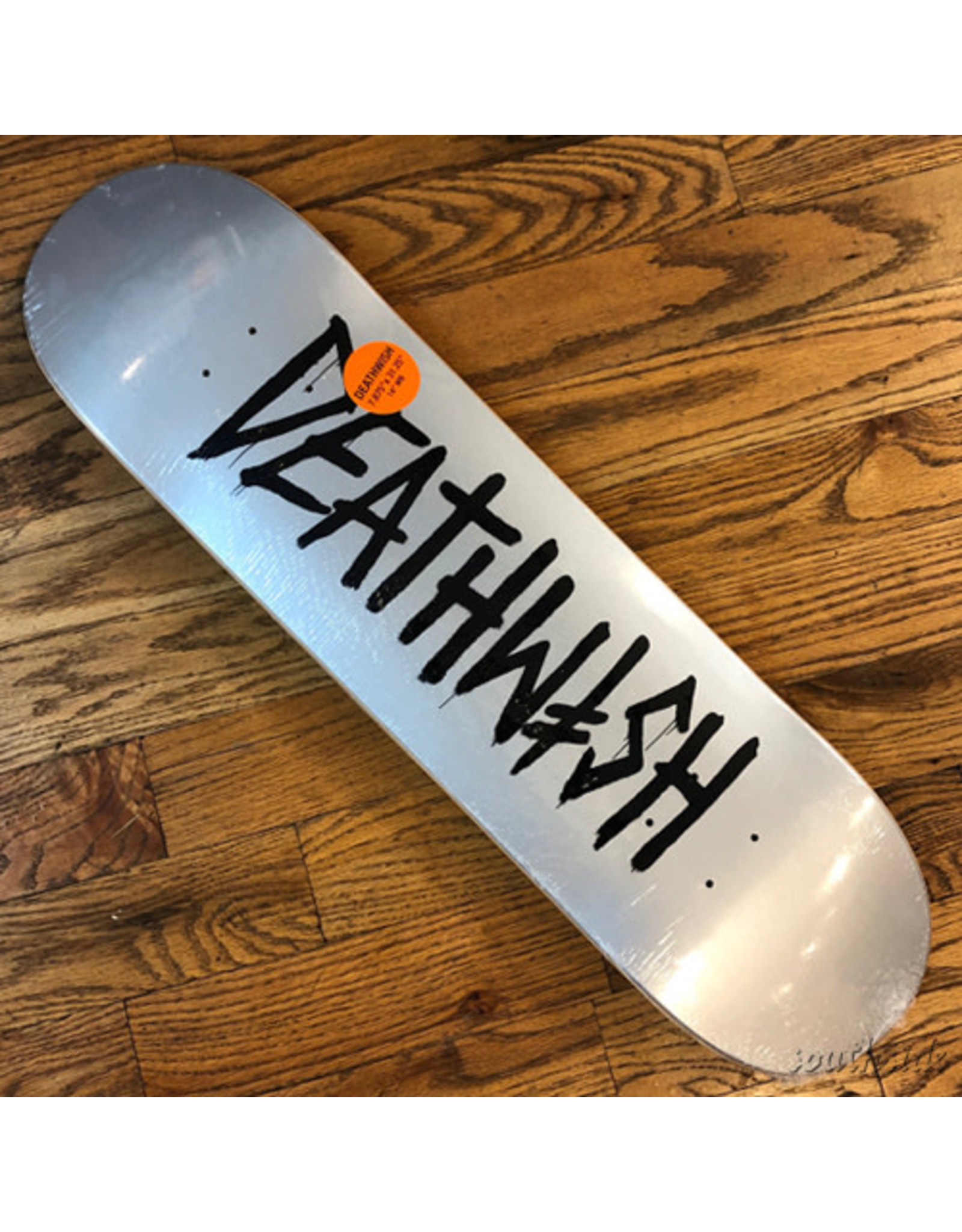 Deathwish Deck Death Tag Grey Pearl 7.87x31.3