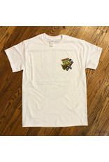 Southside Southside Nevermind Tee OG Crest Yellow Rose White