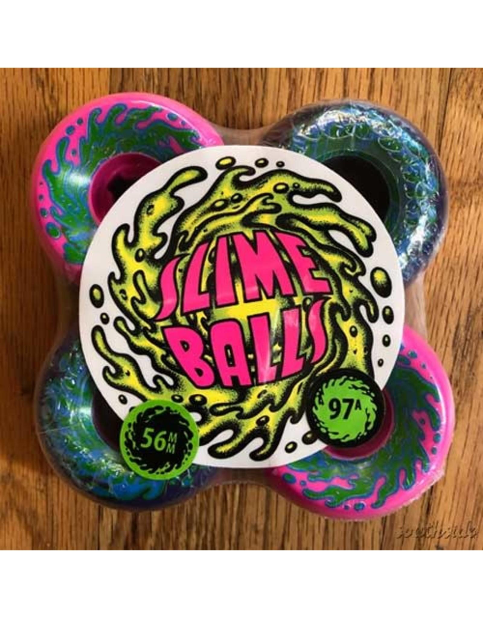 Slime Balls Slime Balls Double Take Vomit Mini 56mm97A Pink Black Half and Half