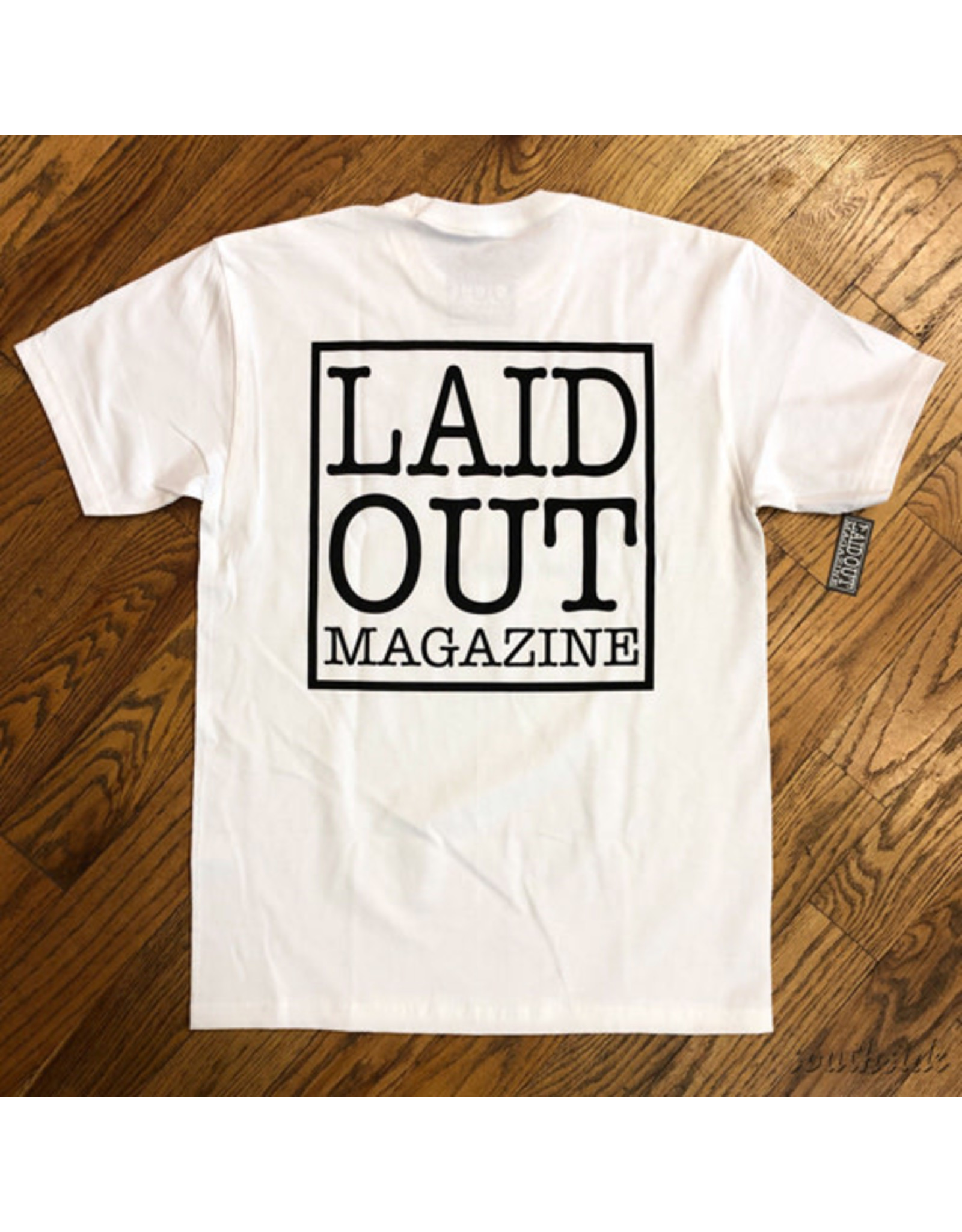 Laid Out Laid Out Tee LO Original White Black