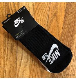 Nike Nike SB Sock Ankle 3 Pack Black Gray White