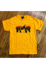 Thrasher Tee Crows Gold