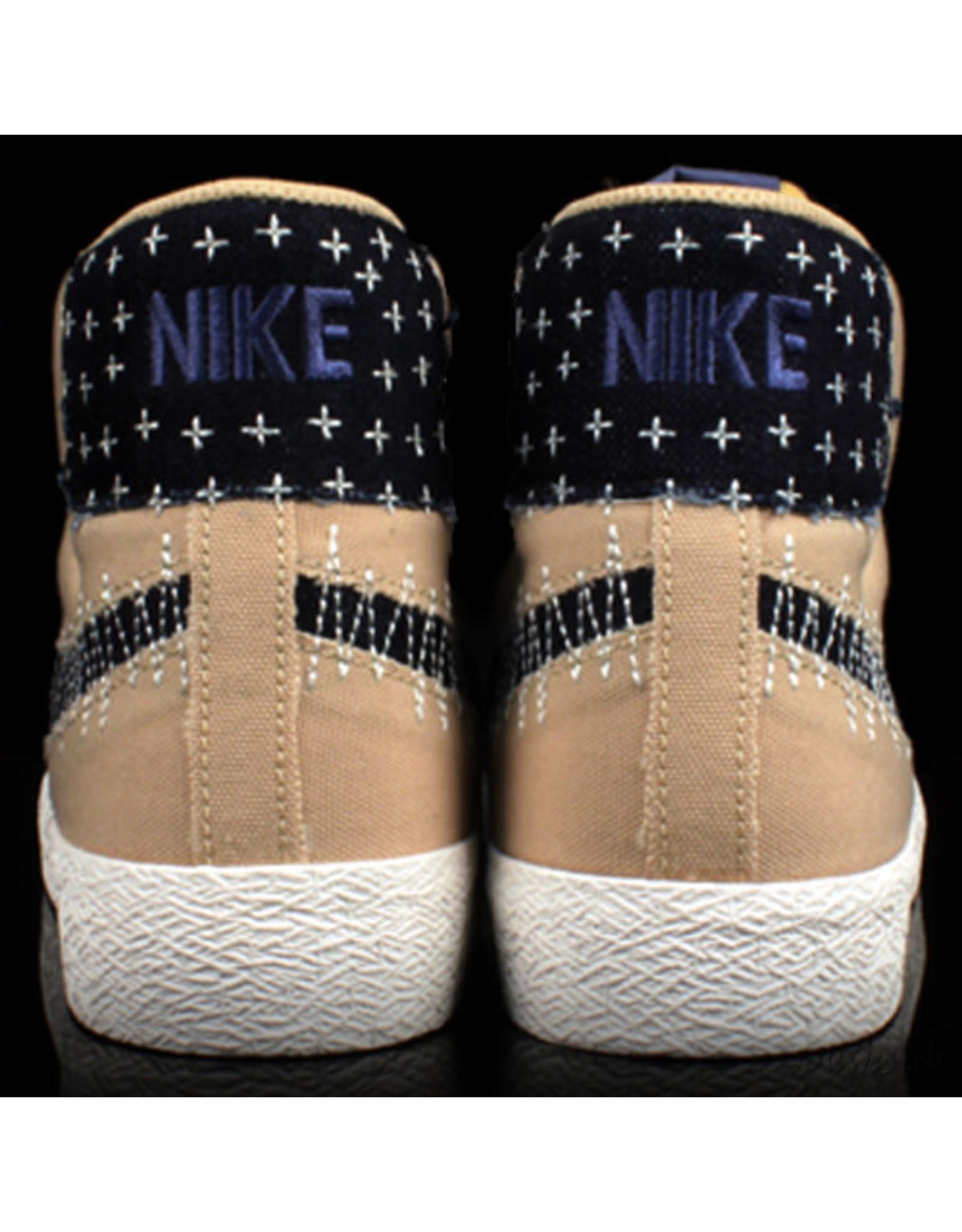Nike Nike SB Blazer Mid Sesame Mystic Navy Sail