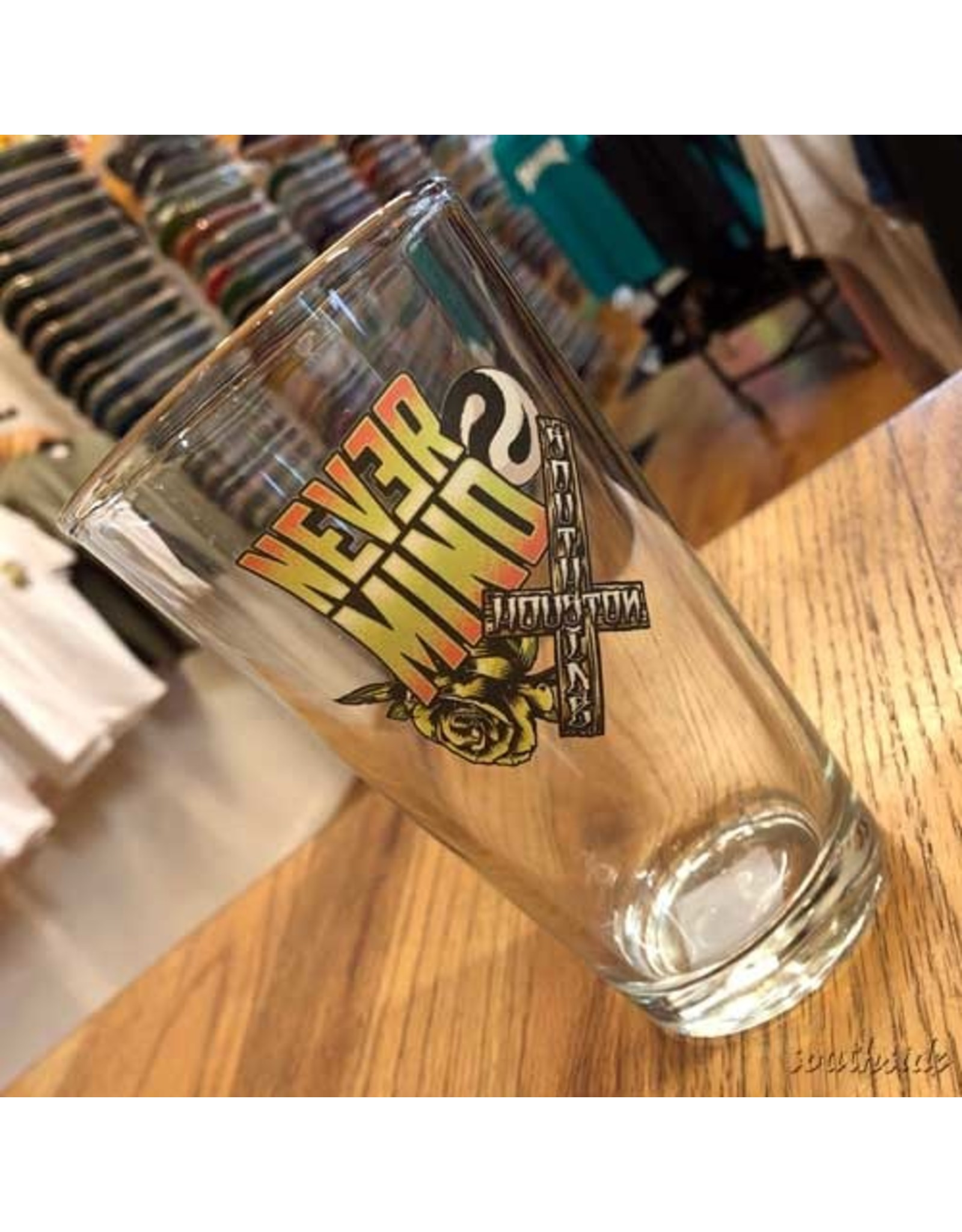 Southside Southside Nevermind Pint Glass