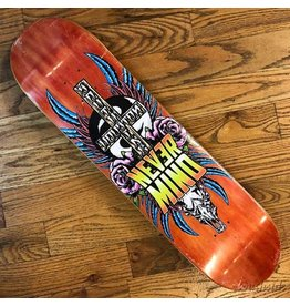 Southside Southside Nevermind Skateboards Deck 7.75x31.5 Pink Flowers Various Stained Veneer