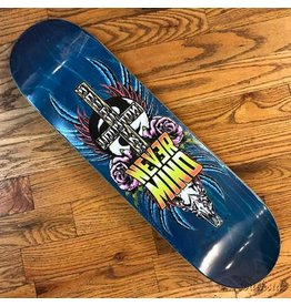 Southside Southside Nevermind Skateboards Deck 8.38x32.3 Pink Flowers Various Stained Veneer