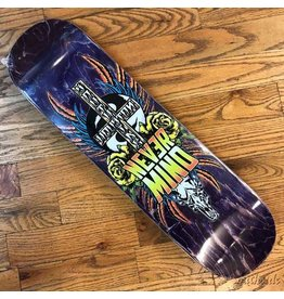 Southside Southside Nevermind Skateboards Deck 8.5x31.8 Yellow Flowers Various Stained Veneer BOX Shape