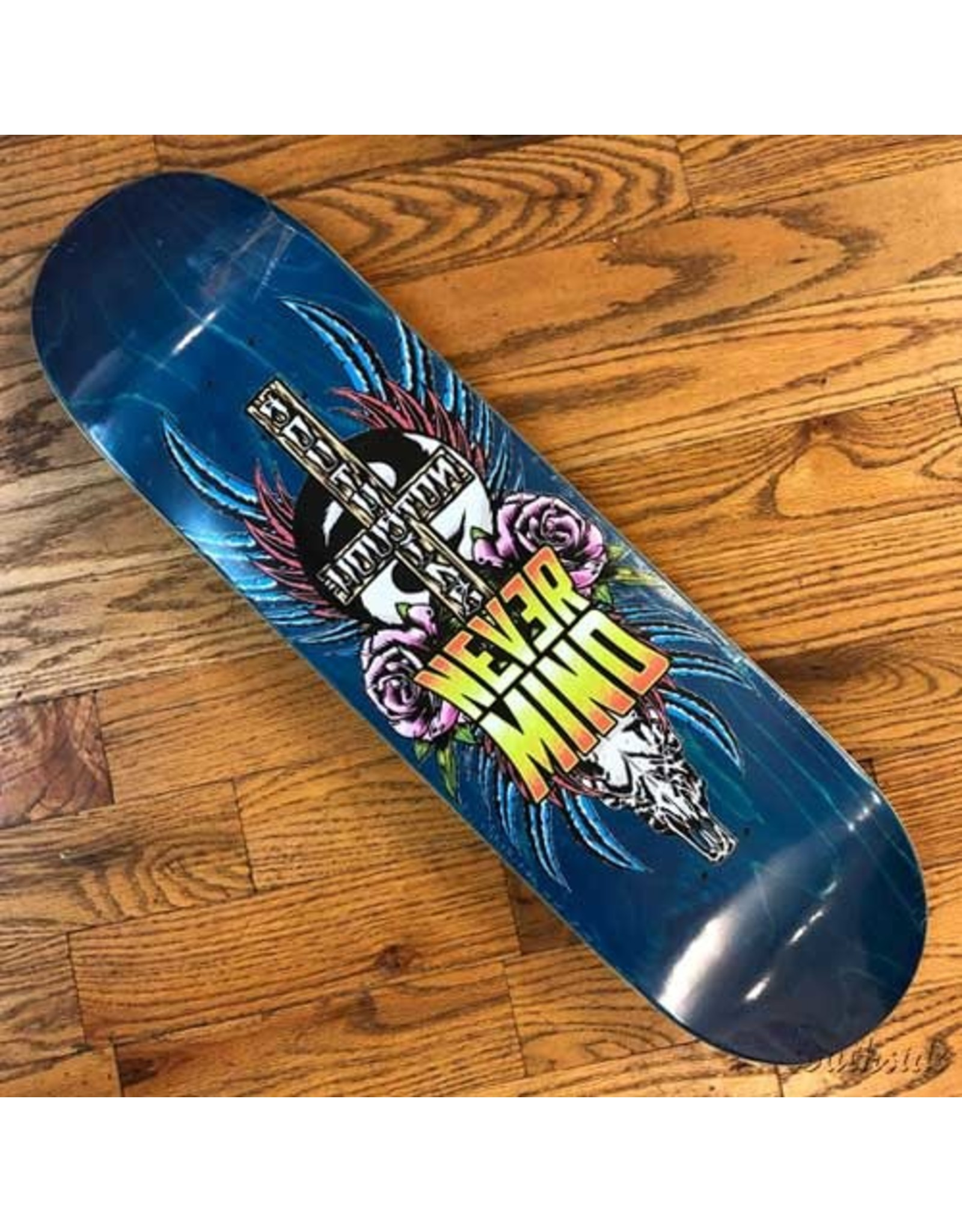 Southside Southside Nevermind Skateboards Deck 8x31.9 Pink Flowers Various Stained Veneer