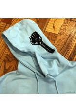 Hardies Pullover Hoodie Fist Light Blue