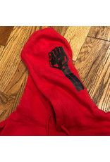 Hardies Pullover Hoodie Fist Red