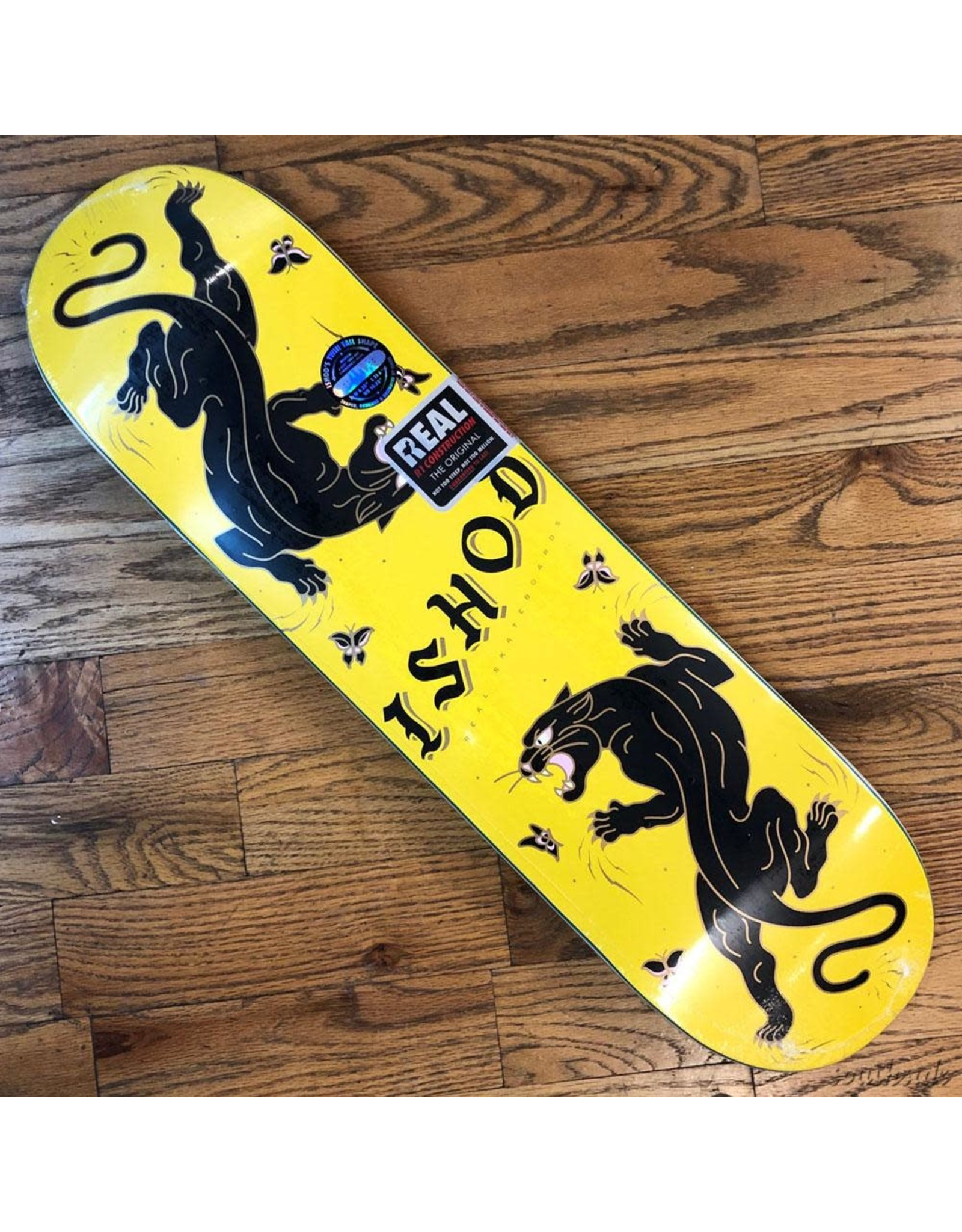 Real Deck Ishod Catscratch Yellow 8.25