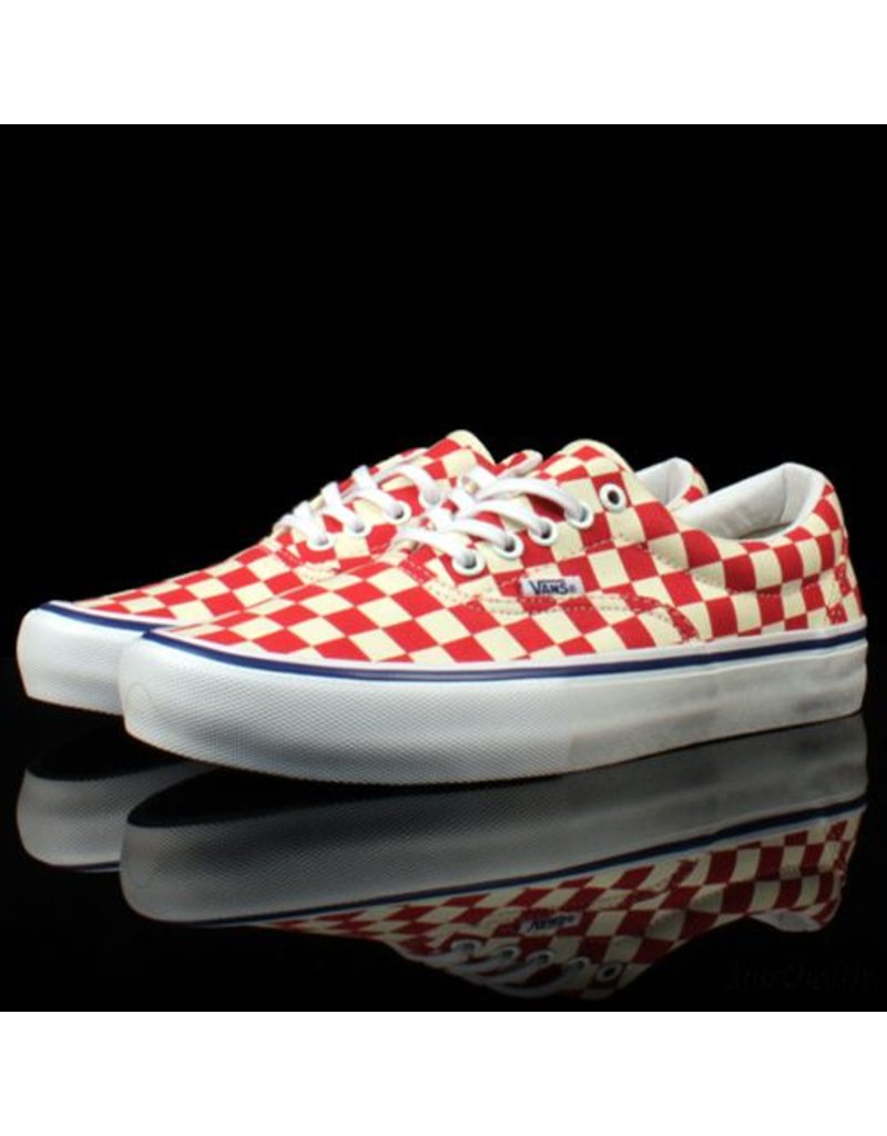 VANS Vans Era Pro Checkerboard Rococco Red