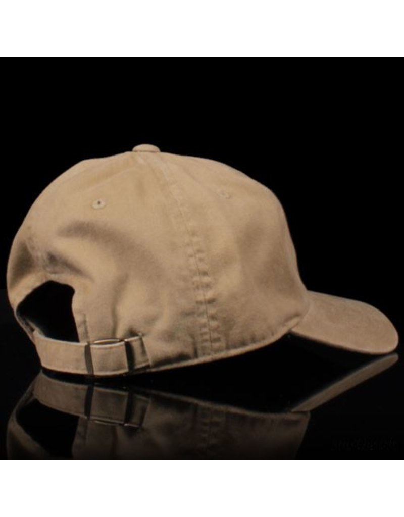 Southside Southside Hat Script Washed Faded Khaki