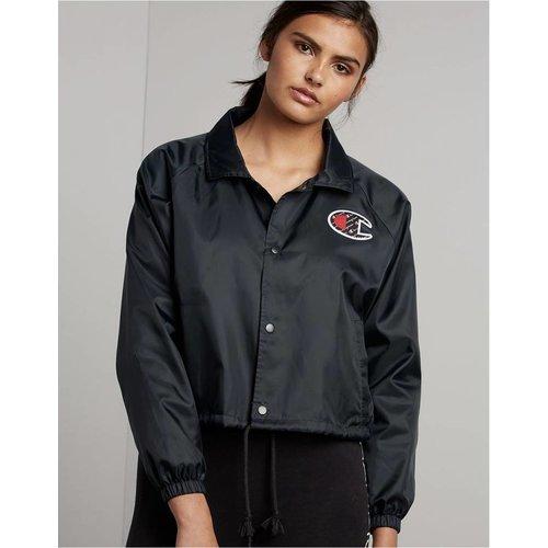 CHAMPION Cropped Coaches Jacket
