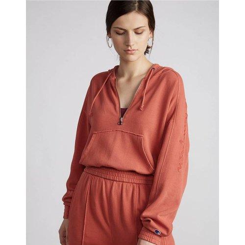 CHAMPION Vintage Fleece 1/2 Zip Hood