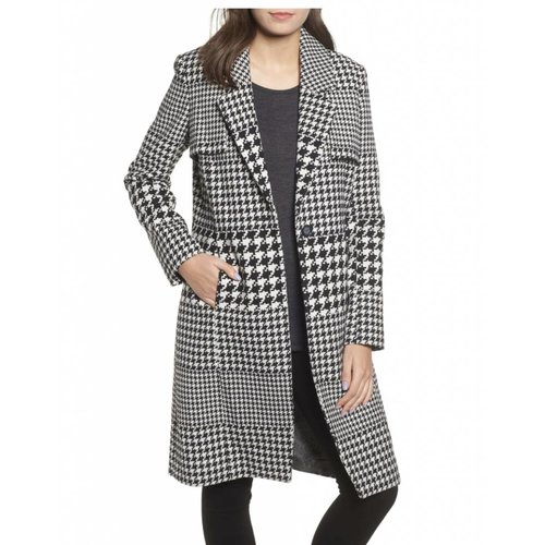 NVLT Houndstooth Coat