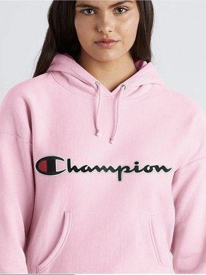 CHAMPION Reverse Weave Hoodie Script