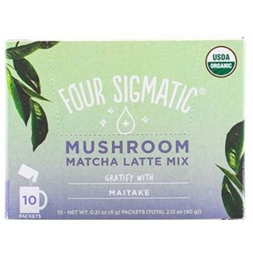 Four Sigmatic Matcha Latte + Maitake