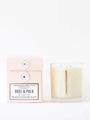Woodlot Rose + Palo 13.5oz Candle