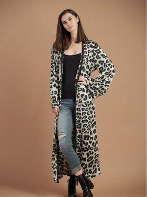 C'est Moi Animal Print Kimono