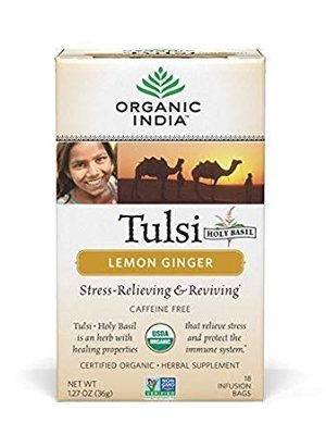 Organic India Tulsi Tea Lemon Ginger