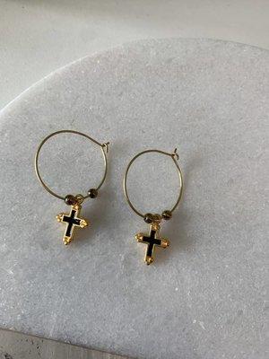 Atelier SYP Timia Cross Earrings