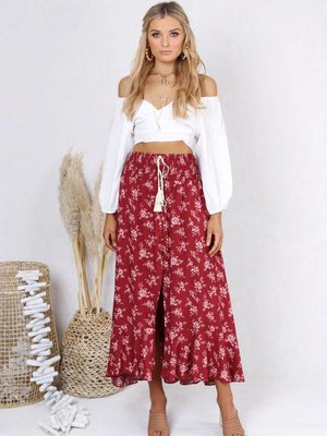 Lost in Lunar Tamara Maxi Skirt