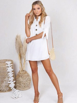 Lost in Lunar Izzie Shirt Dress