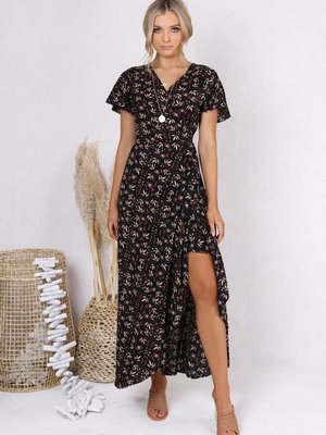 Lost in Lunar Eliza Wrap Dress