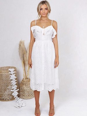 Lost in Lunar Romi Midi Dress
