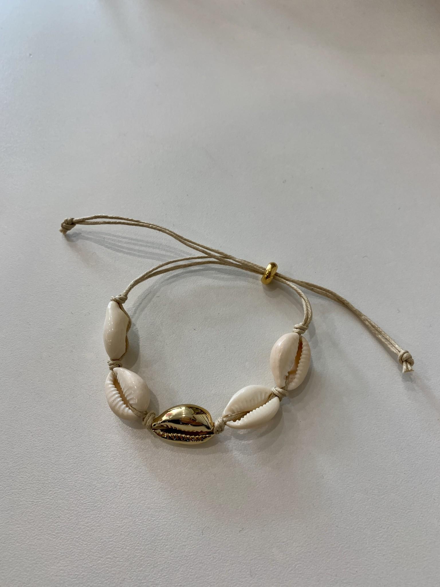Mykonos Shell Anklet