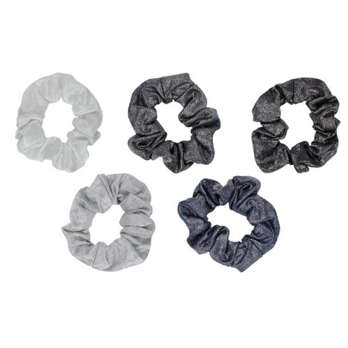 Kitsch Metallic Scrunchies