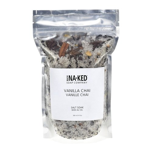 Buck Naked Soap Company Vanilla Chai Salt Soak