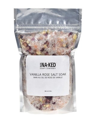 Buck Naked Soap Company Vanilla Rose Salt Soak