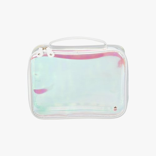 Stephanie Johnson Jumbo Makeup Case Hologram