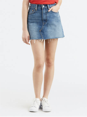 Levi's Deconstructed Mini Skirt