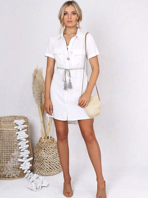 Lost in Lunar Bindi Shirt Dress