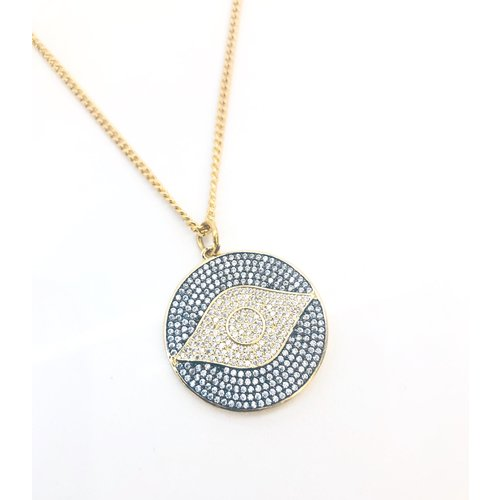 Atelier SYP All Seeing Evil Eye Necklace