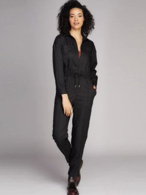 C'est Moi Button Down Jumpsuit