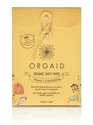 Orgaid Orgaid Vitamin C Mask Multi-Pack (4)