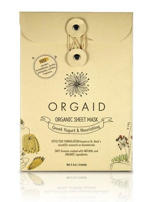 Orgaid Orgaid Greek Yogurt Mask Multi-Pack (4)