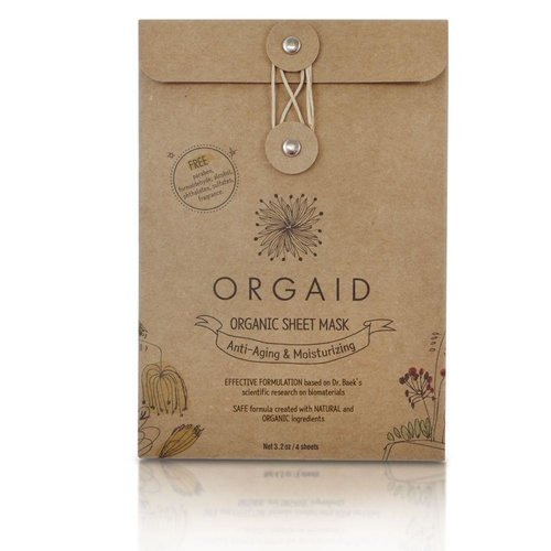 Orgaid Orgaid Anti-Aging Mask Multi-Pack (4)