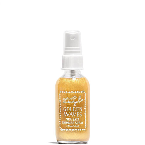 Captain Blankenship Golden Waves Sea Salt Shimmer Spray TRAVEL