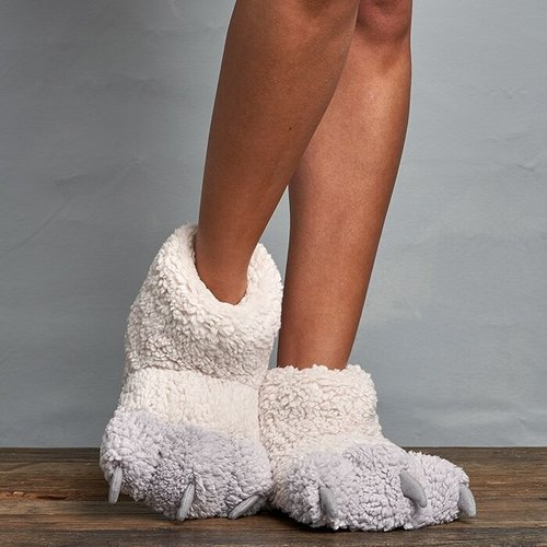 Lemon Loungewear Berber Claw Slippers