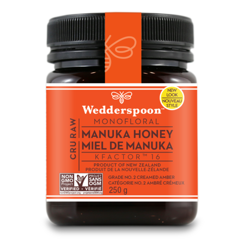 Wedderspoon Manuka Honey KFactor 16