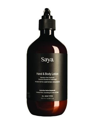 Saya Hand + Body Lotion